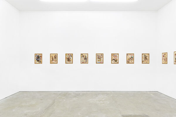 Barry Reigate: Drawings, installation view