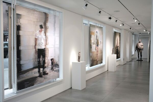 Andy Denzler - Suspended Reality, installation view