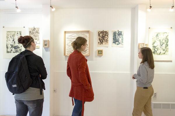 Lidija Krnjajić & Zita Arđelan    : ŠokARTSY #1, installation view