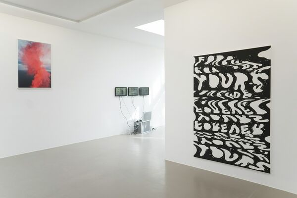 Lichtstraße, installation view