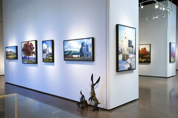 New Paintings by Matthew Sievers, installation view