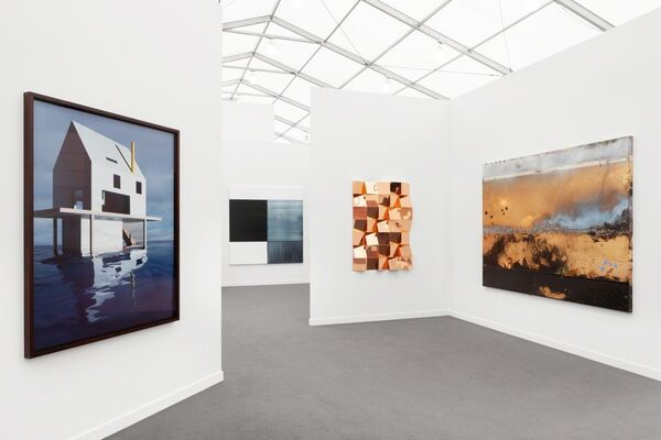 Sean Kelly Gallery at Frieze New York 2019, installation view