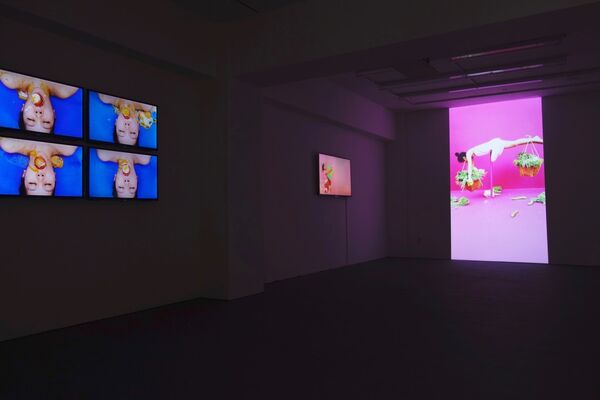 """Work"" by Kawita Vatanajankur, installation view"