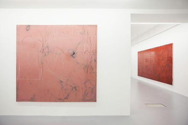 Daniel Weissbach 'Future Pyramids - 00:00:00:00', installation view
