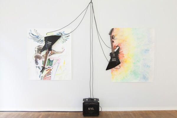 Catherine Lorent, installation view