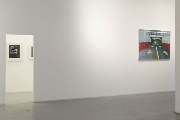"Bernardo Siciliano, ""Panick Attack"", installation view"