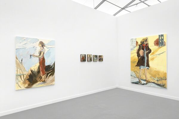 Galerie Antoine Ertaskiran at Frieze New York 2019, installation view