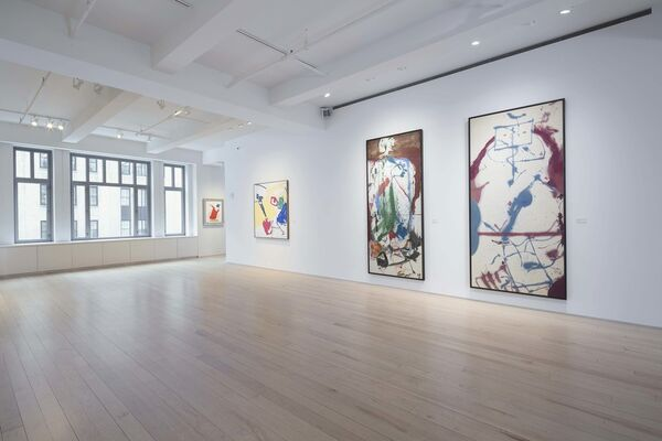 Helen Frankenthaler - Selected Paintings, installation view