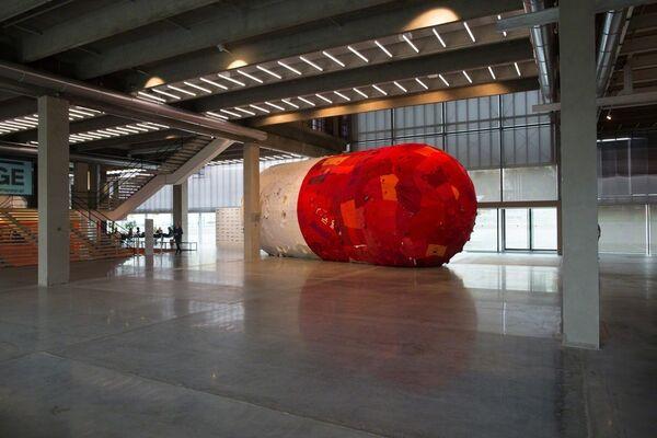 Yin Xiuzhen. Slow Release, installation view