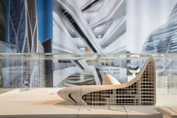 ZAHA HADID, installation view