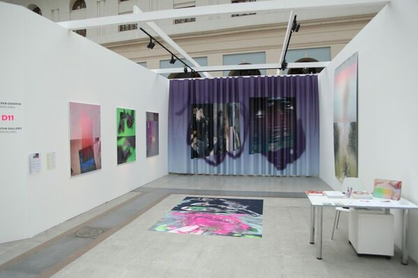 Osnova Gallery at Cosmoscow 2016, installation view