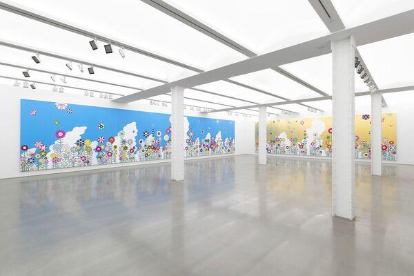 """TAKASHI MURAKAMI """"HEADS <-> HEADS"""", installation view"""