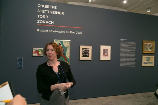 O'Keeffe, Stettheimer, Torr, Zorach: Women Modernists in New York, installation view
