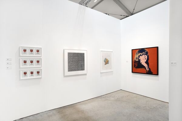 The Bonnier Gallery at Art Miami 2019, installation view