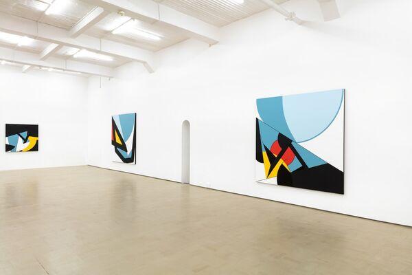 Innate Black, installation view