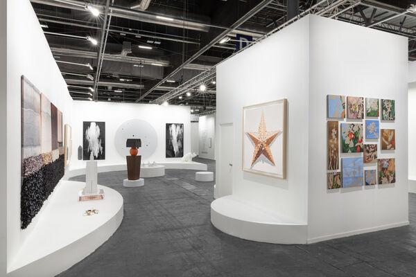 Sabrina Amrani at ARCOmadrid 2020, installation view