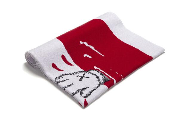 Exclusive KAWS Blanket Release in Support of Studio Voltaire, installation view