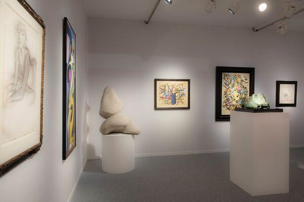 Galerie Philippe David at Art Élysées–Art & Design 2018, installation view