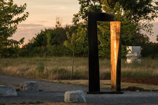 Outdoor Sculpture Exhibition 2016, installation view