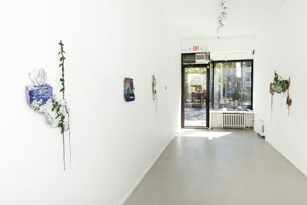 """Sophia Narrett """"Early in the Game"""", installation view"""