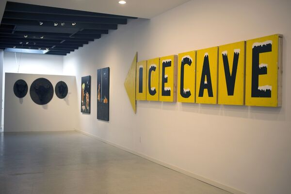 Dave Eggers - Idaho, installation view
