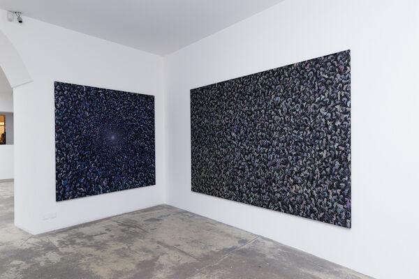 Peybak - Abrakan «Éclat», installation view