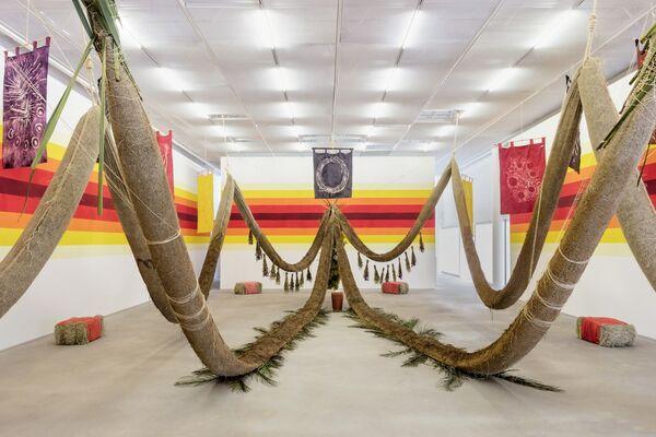 Daniel Lie . Filhx do Fim [Children of the End], installation view