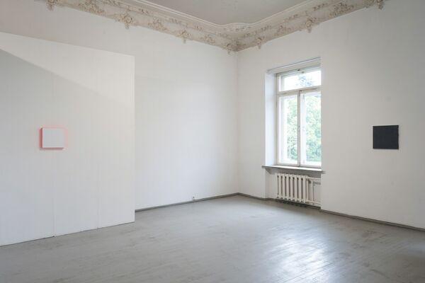 Heimo Zobernig & Julia Haller | Die Gemälde / Paintings, installation view