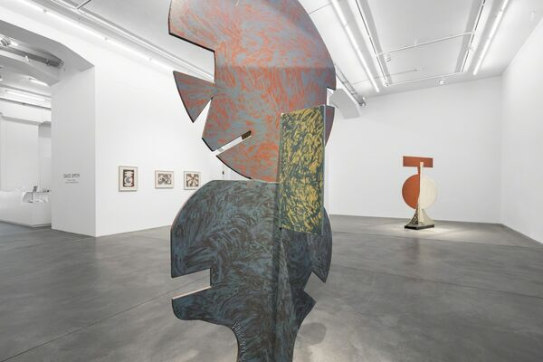 David Smith: Form in Colour, installation view