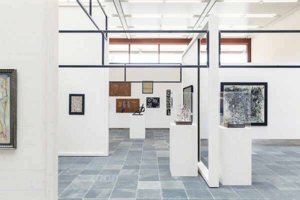 Oswald Oberhuber, installation view