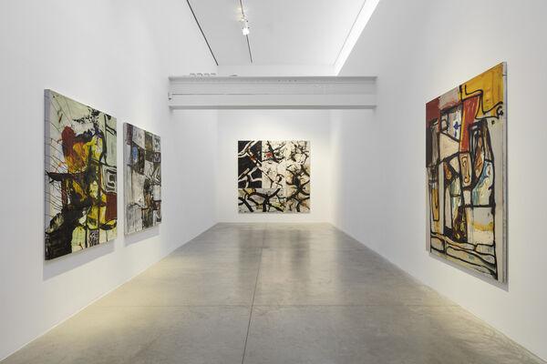 Tsibi Geva: SUBSTRATA, installation view