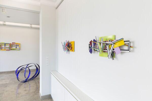 FARBRAUSCH, installation view