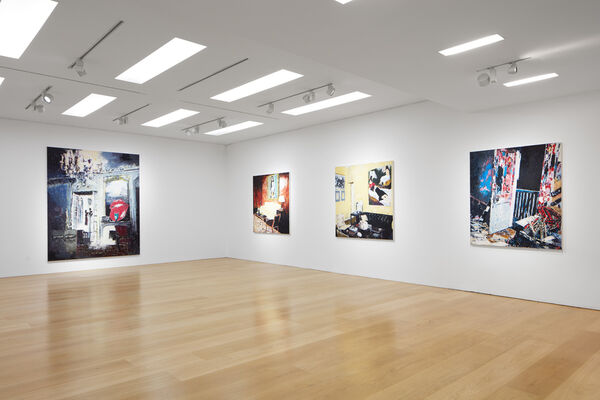 Enoc Perez: The Cinematic Self, installation view