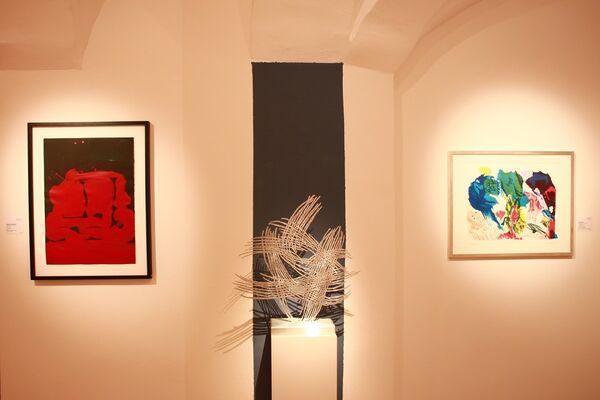 fine art & contemporary March Exhibition 2018, installation view