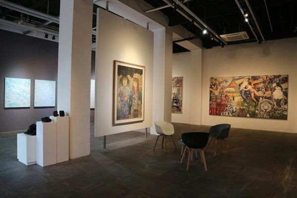 In Between Days VIII: Group Exhibition by the Gallery Artists, installation view