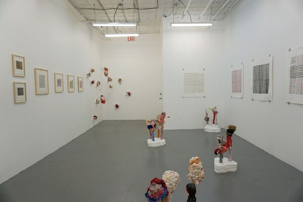 Imperfect Musings by Emily Barletta and Meg Stein, installation view