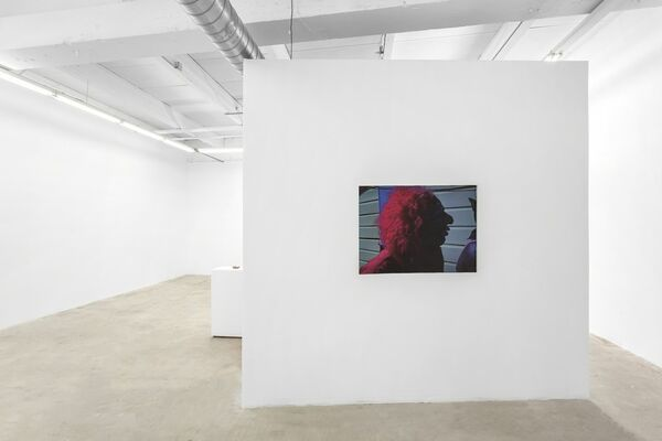 Magdalena Suarez Frimkess and Ben Russell, installation view