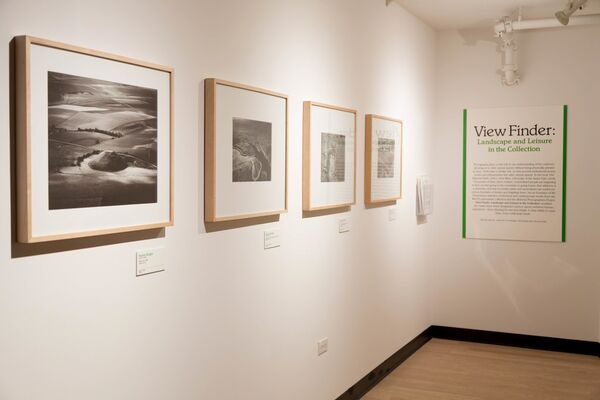 View Finder: Landscape and Leisure in the Collection, installation view