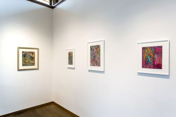 Janet Sobel: Revisting the Drip, installation view