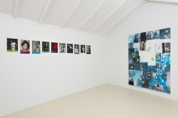 "Mark Verabioff ""Poolside Drive-by"", installation view"