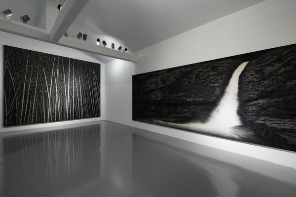 The Transcript of the Moonlight, installation view