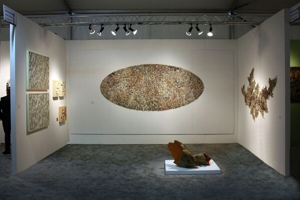 Adah Rose Gallery at Pulse Miami 2013, installation view