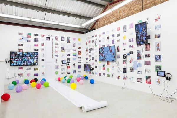 Molly Soda 'Me and My Gurls', installation view