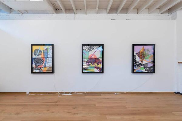 Marc Freeman: Signs, installation view