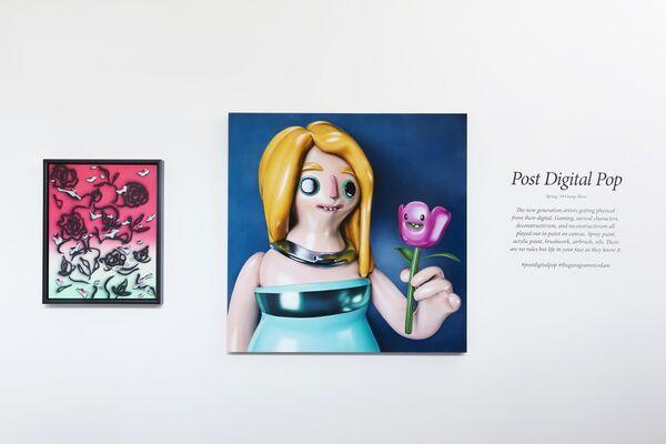Post Digital Pop, installation view