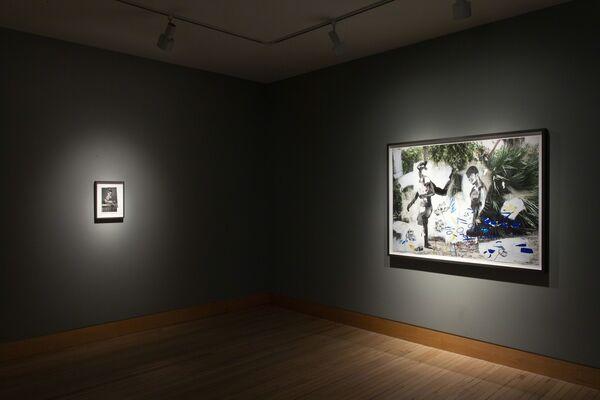 Wardell Milan: Parisian Landscapes, Blue in Green, installation view