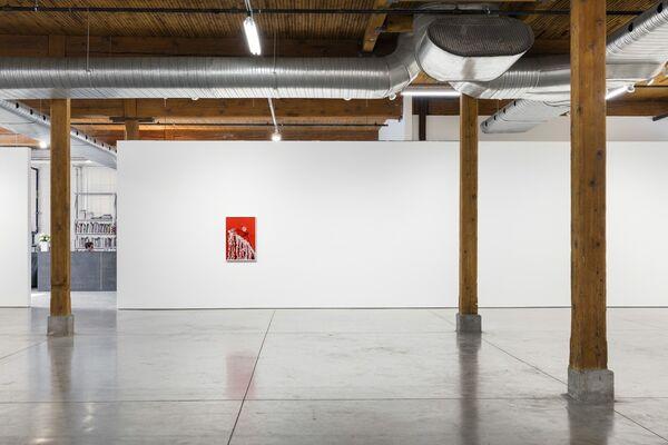 Centerfold, installation view