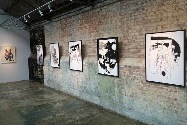 Will Barras 'Trust Your Hands', installation view