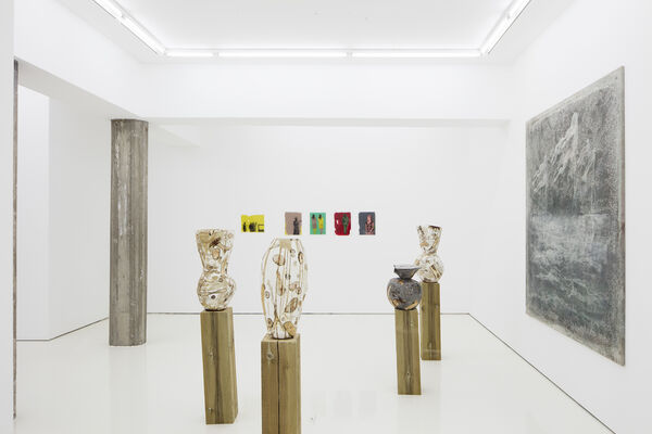 Group Exhibition: Working on it, installation view
