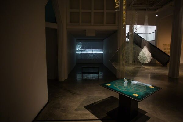 Through the Listening Glass, installation view
